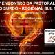 Cartaz com as informações sobre o 1º Encontro Regional da Pastoral do Surdo Sul 1 : 26 e 27 de novembro em SP.