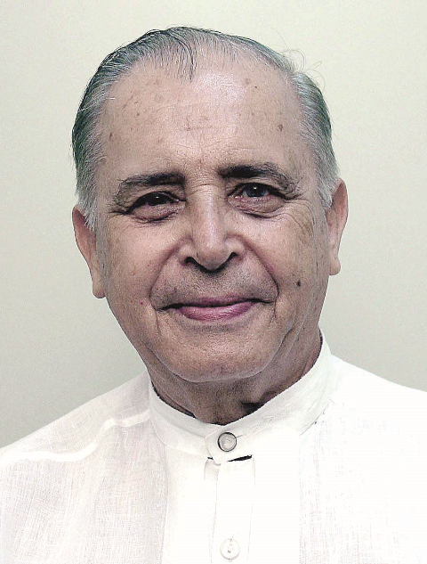 Foto do Padre José Marques da Rocha, Missionário Redentorista. Sacerdote que coordenou e grande incentivador da Catequese Especial no Rio de Janeiro. Faleceu no dia 22 de outubro aos 88 anos de idade na Tijuca.