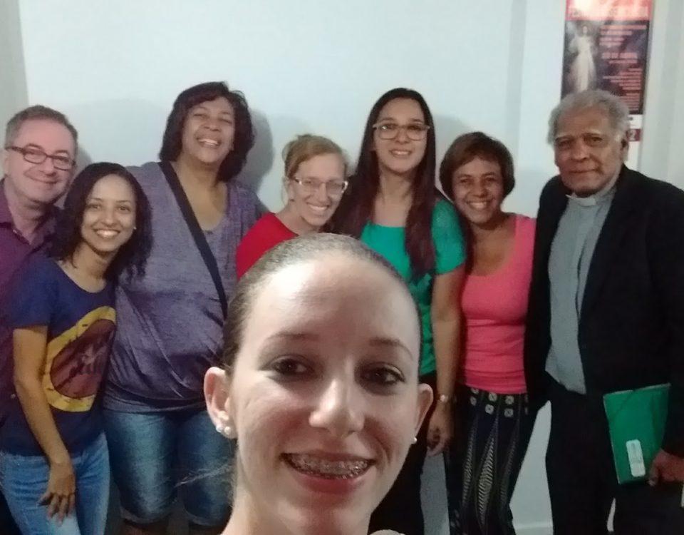 Grupo de 7 intérpretes católicos se encontram mensalmente na Mitra Arquidiocesana. 1º de abril.. Rio de Janeiro