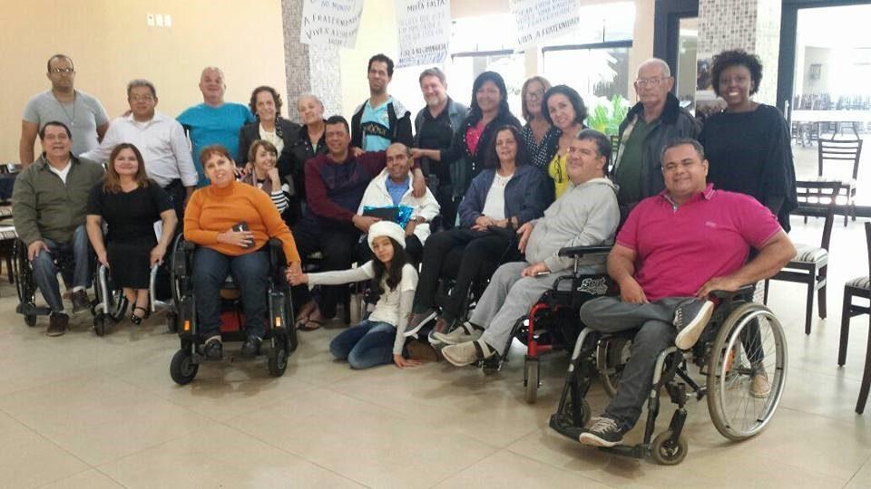 Participantes do Encontro Interestadual de Formação da FCD em São Paulo.