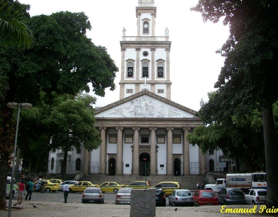 Fachada da Igreja de Nossa Senhora da Glória, Largo do Machado