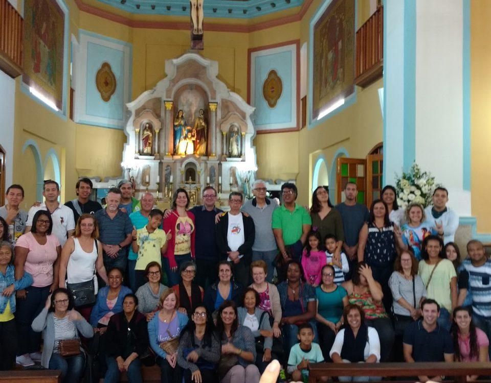 Foto Oficial dos participantes da Visita Missionária - Paróquia Nossa Senhora do Desterro - Campo Grande - Rio de Janeiro