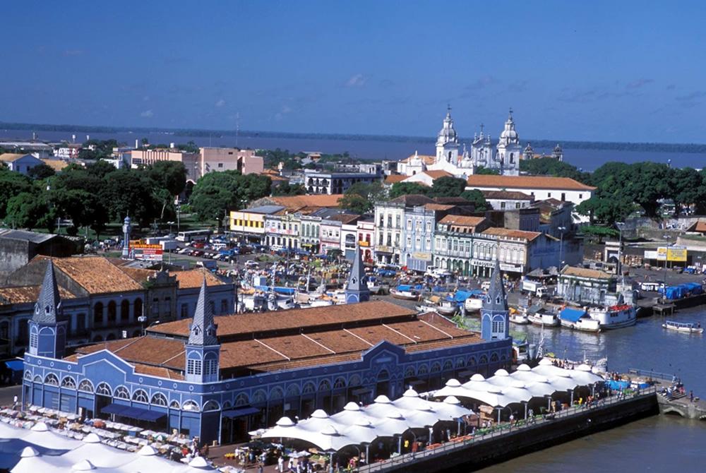 Vista Panorâmica da Cidade de Belém (PA) onde acontecerá o 19º ENAPAS/9 ENCIAT em 2020.