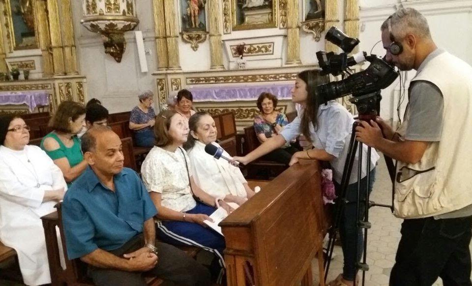 Entrevista com a Coordenação da Pastoral do Cego na Igreja Nossa Senhora da Glória - Largo do Machado - Rio de Janeiro