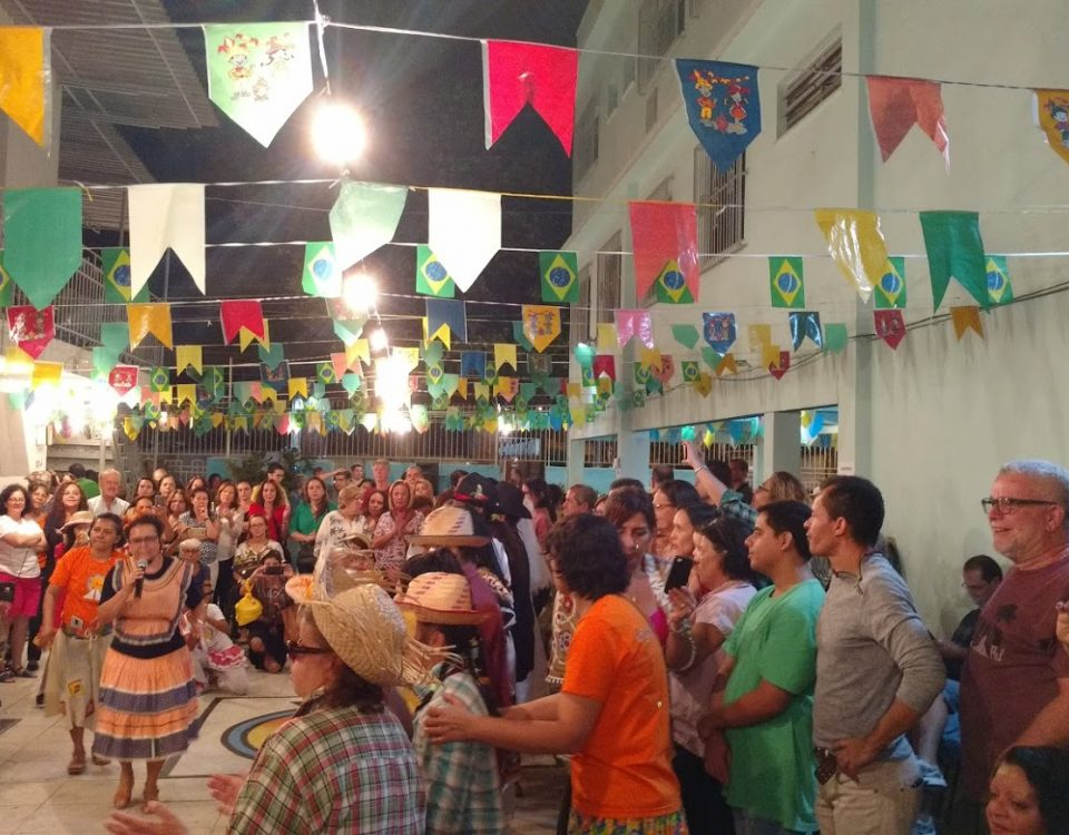 Festa Junina no Sodalício da Sacra Família da Tijuca.