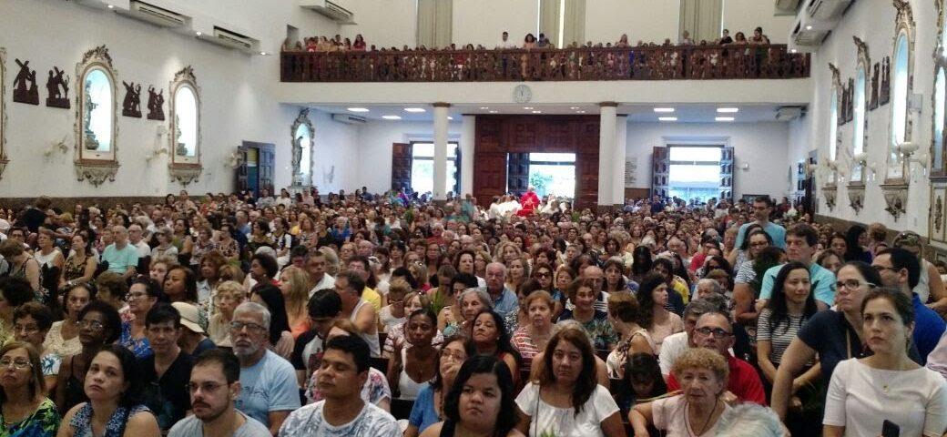 Igreja da Porciúncula de Sant'ana de Niterói. Missa dos Surdos - 2018