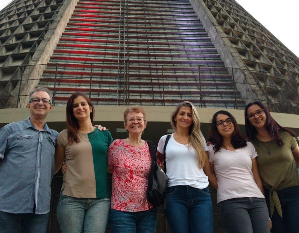 Catedral do Rio de Janeiro. CRP e CRI em reunião no dia 08 de julho de 2018.