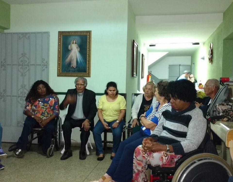 Residência das Irmãs de Nossa Senhora da Glória  e Casa de Acolhimento das Moças Cegas na Tijuca.