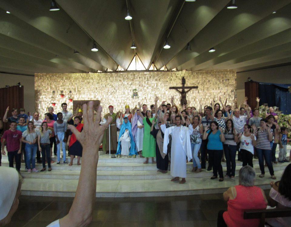 Catedral de Nossa Senhora Aparecida, cidade de Cascavel no Paraná