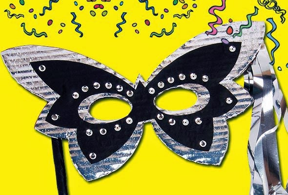 mascara-carnaval-prateada-borboleta